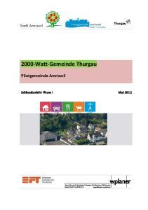 2000-Watt-Gemeinde Thurgau