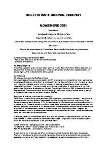 2001 NOVIEMBRE 2001