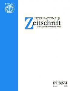 2003 International Journal of Government Auditing, Inc