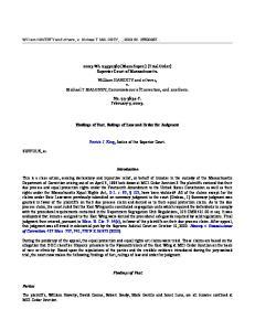 2003 WL (Mass.Super.) (Trial Order) Superior Court of Massachusetts