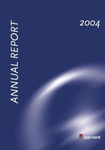 2004 ANNUAL REPORT 1