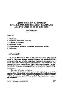 2004, DE 13 DE DICIEMBRE