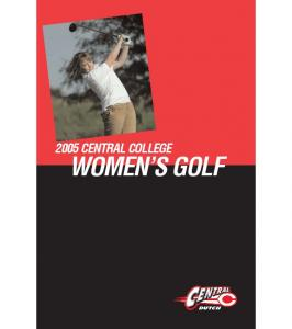 2005 CENTRAL COLLEGE WOMEN S GOLF
