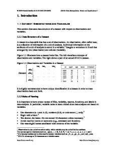 2005) STATA Data Manipulation: Basics and Applications 7