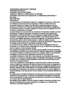 2006 CONVENIO COLECTIVO DE