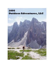 2006 Outdoor Adventures, LLC