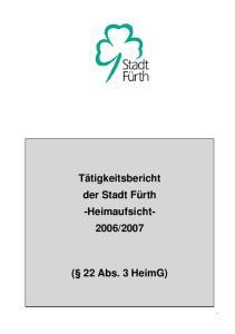 2007 ( 22 Abs. 3 HeimG)
