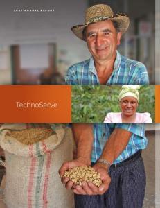 2007 ANNUAL REPORT. TechnoServe