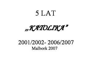 2007. Malbork 2007