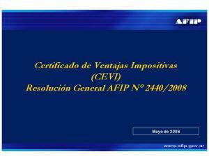 2008. Mayo de 2008