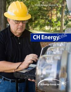 2009 Annual Report & 10-K CH Energy