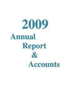 2009 Annual Report & Accounts