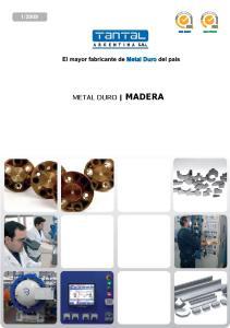 2009 METAL DURO MADERA