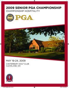 2009 Senior PGA Championship