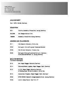 2009 Work grant, Kulturstiftung des Freistaates Sachsen
