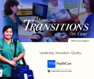 2010 Annual Report. Leadership. Innovation. Quality