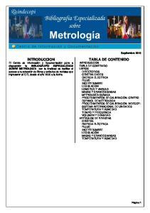 2010 INTRODUCCION TABLA DE CONTENIDO