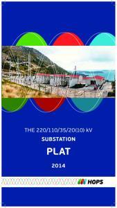 20(10) kv SUBSTATION PLAT