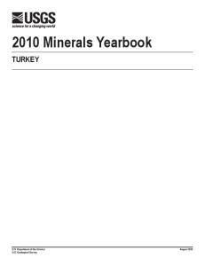 2010 Minerals Yearbook