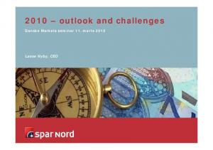 2010 outlook and challenges