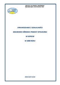 2010 Rady Miasta Sopotu z dnia 30 kwietnia 2010r