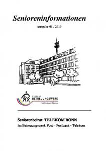 2010 Seniorenbeirat TELEKOM BONN
