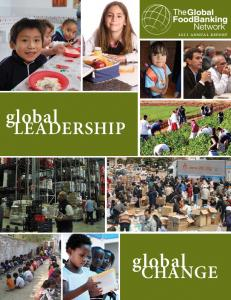 2011 annual report. global. leadership. global. Change