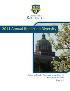 2011 Annual Report on Diversity