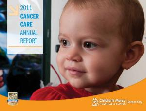 2011 Cancer Care Annual Report
