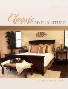 2011 Catalogue SOLID WOOD FURNITURE BEDROOM LIVING DINING
