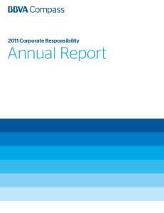 2011 Corporate Responsibility Annual Report