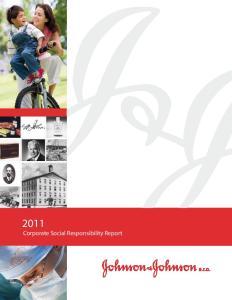 2011 Corporate Social Responsibility Report