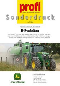 2011 Exklusiver Fahrbericht: John Deere 6R R-Evolution