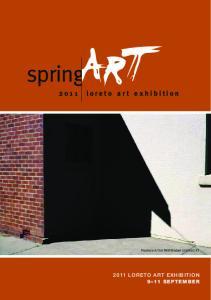 2011 loreto art exhibition