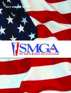 2012 ANNUAL REPORT SMGA 1