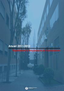 2012. Departament d Arquitectura de Computadors