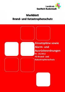 2012 FD Brand- und Katastrophenschutz