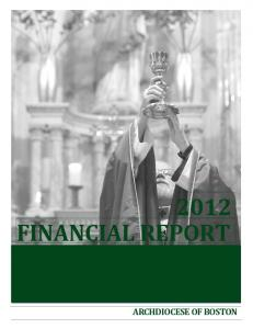 2012 FINANCIAL REPORT