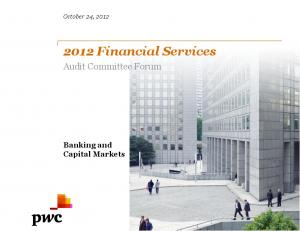 2012 Financial Services