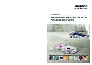 2012 HERRAMIENTAS PERFECTAS NECESITAN ACCESORIOS PERFECTOS