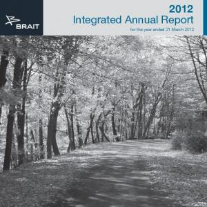 2012 Integrated Annual Report. for the year ended 31 March 2012