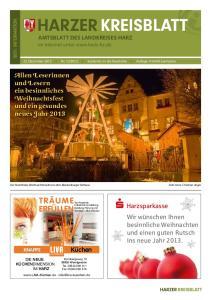 2012 kostenlos an die Haushalte Auflage Exemplare