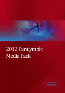 2012 Paralympic Media Pack