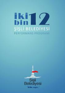 2012 PERFORMANS PROGRAMI