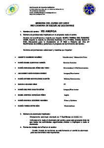 2012 RED CANARIA DE ESCUELAS SOLIDARIAS
