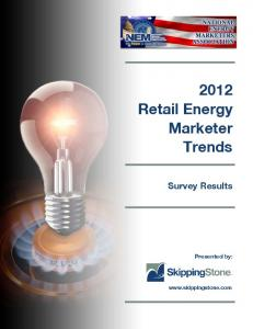 2012 Retail Energy Marketer Trends