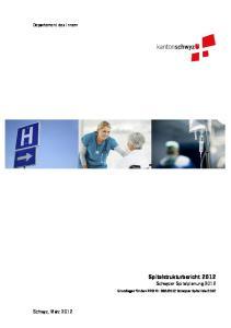 2012 Schwyzer Spitalliste 2012