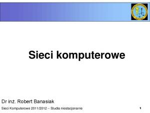 2012 Studia niestacjonarne