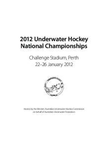 2012 Underwater Hockey National Championships