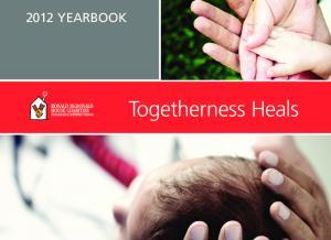 2012 YEARBOOK. Togetherness Heals